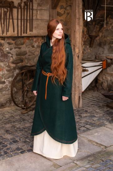 Coat Enya - Wool Green