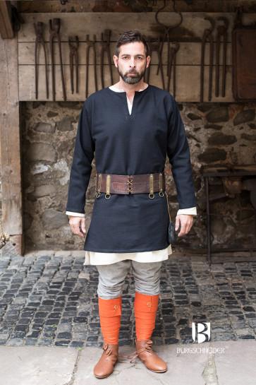 Short Tunic Erik by Burgschneider in black