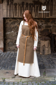 Vikingdress Jodis - Wool Autumn Green