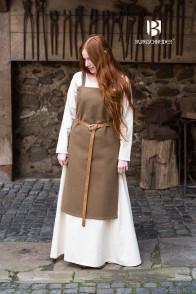 Vikingdress Jodis - Wool Autumn Green