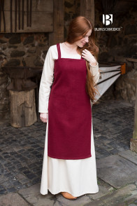 Vikingdress Jodis - Wool Red