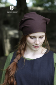 Head Scarfs Set Marianne - Natural and Brown