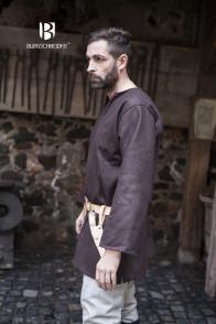 Wool Tunic Lodin - Brown