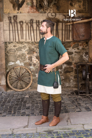 Short-Sleeve Tunic Aegir - Green
