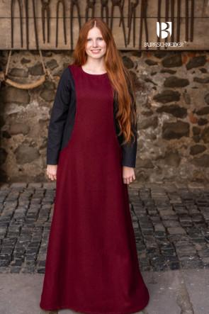 Red Wool Surcot Albrun by Burgschneider