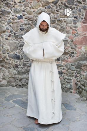 Natural White Monks Habit Benediktus by Burgschneider