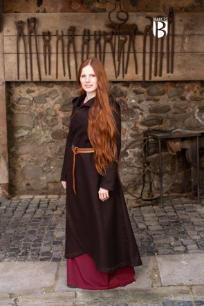 Coat Enya - Wool Brown