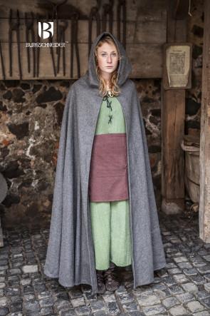 pointed hood on grey cloak hibernus by Burgschneider