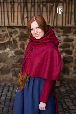 Gugel Curt - Wool Red
