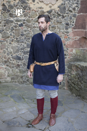 Wool Tunic Lodin - Blue