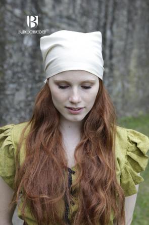 Natural White Headscarf Marianne by Burgschneider