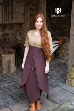 Skirt Tharya brown