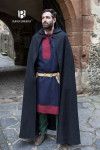 Hooded Cloak Hibernus - Wool Black