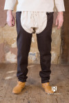 Wool Chausses Bernulf - Brown